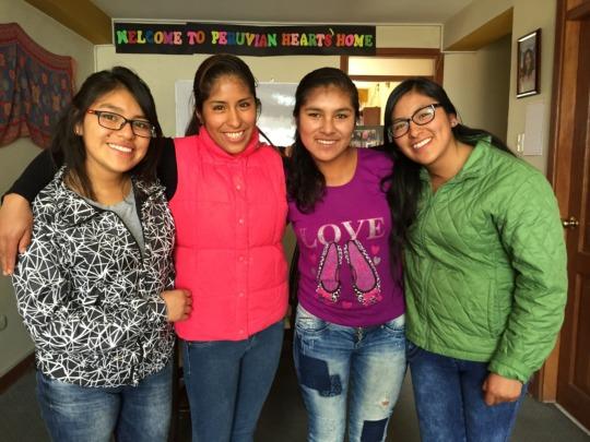 PH Scholars in the PH Apartment in Cusco