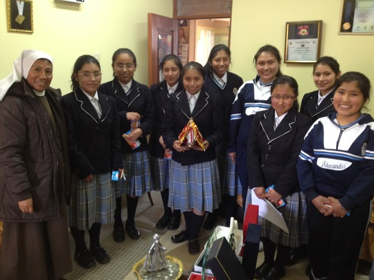 5th Year Students from Colegio Educandas