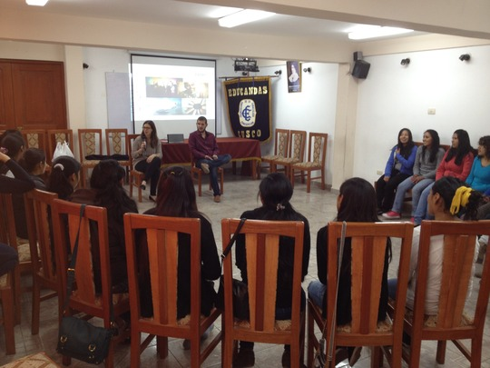 PP Scholars during the workshop on January 16th