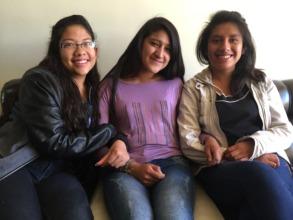 New PH Scholars: Maria Fernanda, Yeshira & Yudith
