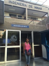 PH Scholar, Gloria, at La Catolica University