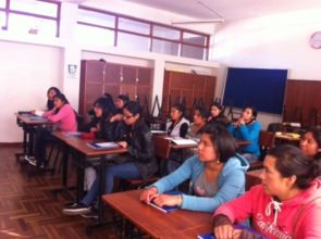 PH Scholars attend a leadership course in Cusco