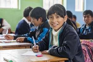 12-Year-Old Peruvian Hearts Scholar, Maricielo.
