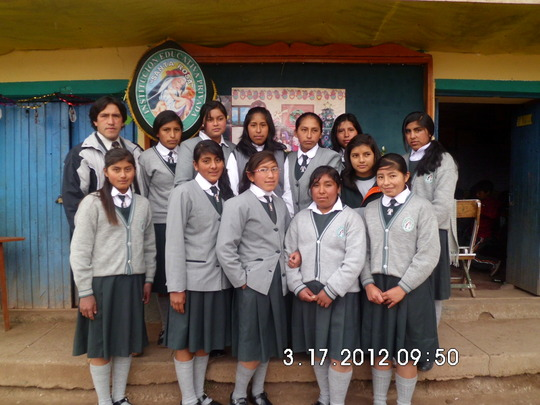 The first class of Peruvian Promise scholars
