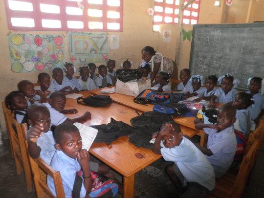 Mercy School children now have 175 books this year