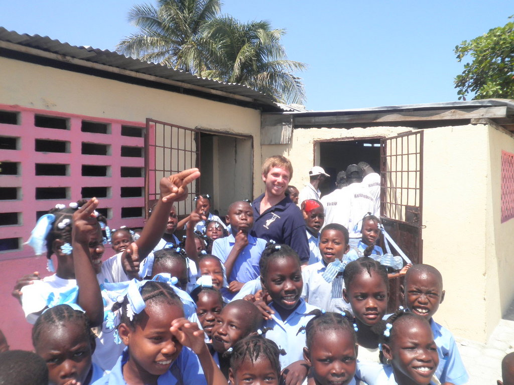 Support education in Haiti with books for schools