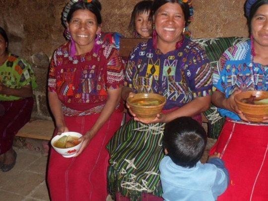 Ixil women at a training program