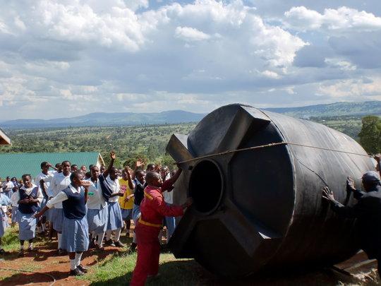 Supporting Girls Education in Rural Kenya
