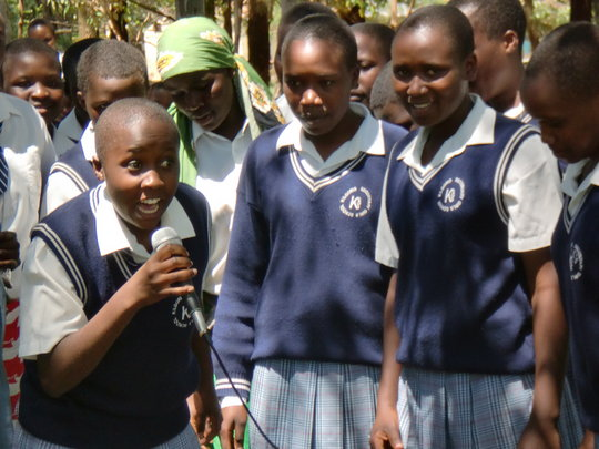 Supporting Girls Education in Rural Kenya