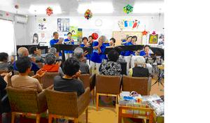 """Hana wa Saku"" was performed along sign language"