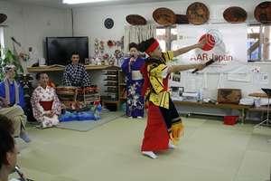 Powerful dance to the folk music