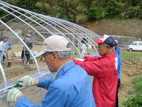 Farming at Temporary Housing Facilities