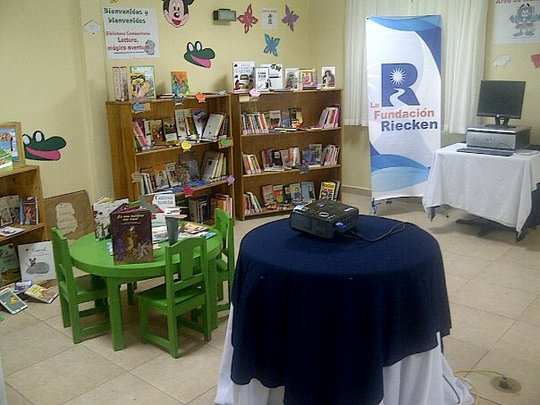Library in San Pedro Sula ready for training class