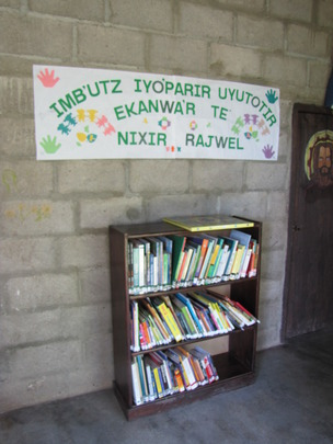 """The """"soul"""" of the community, their library."""