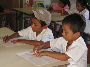 Children are encouraged to illustrate the story