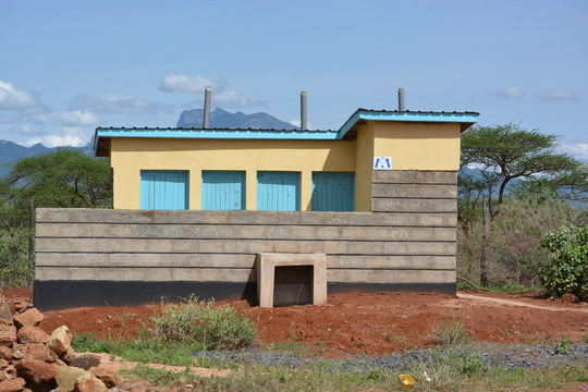 Restroom facilities at Lolkunyian Primary School