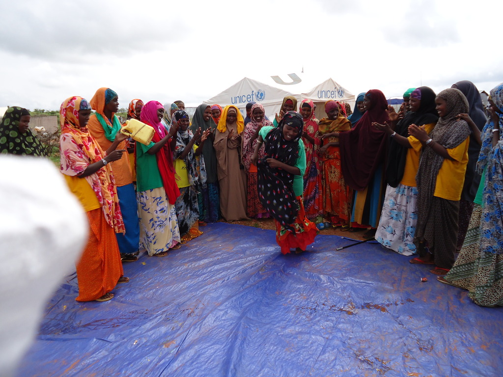Dance Ceremonies as Part of GBV Community Outreach