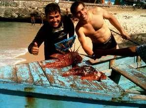 Lion Fish hunters (Volunteers)