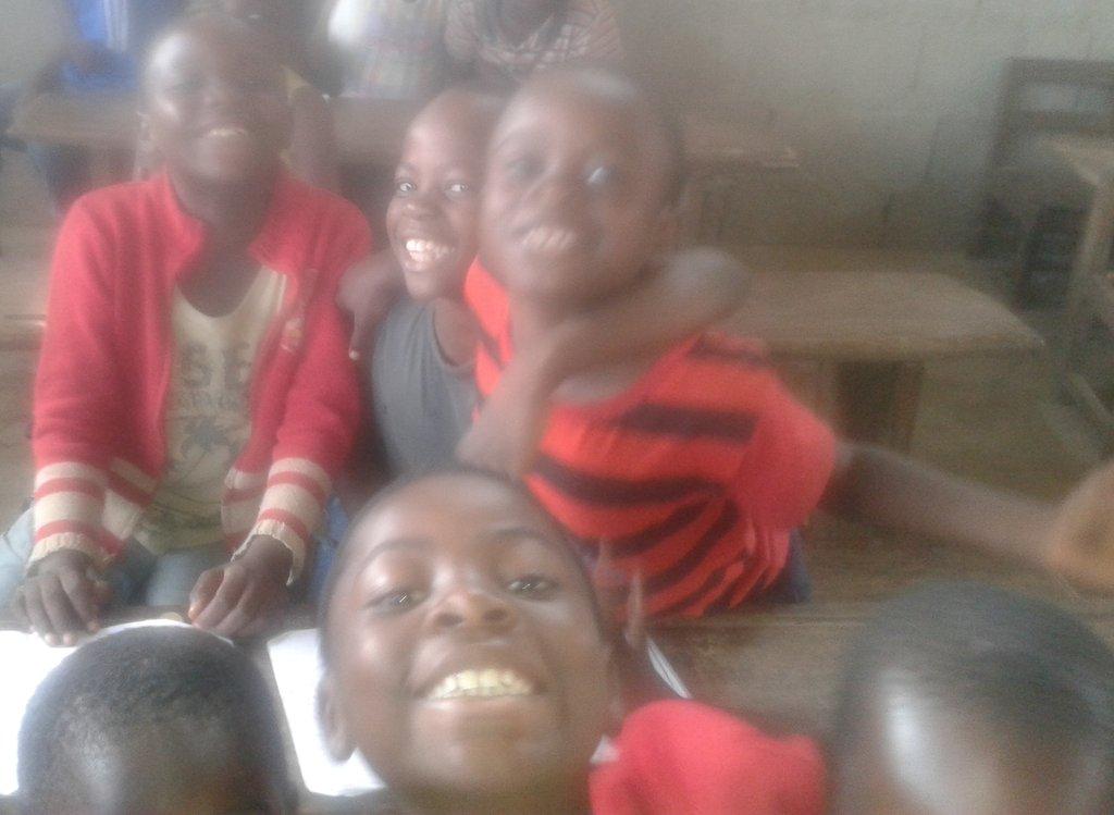 children in classes