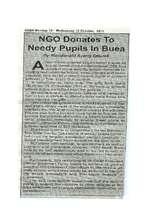 Eden Newspaper Report on SDI Donation to children (PDF)