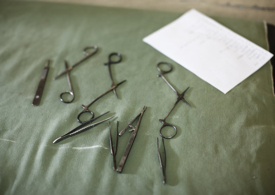 Equipment required to conduct surgery