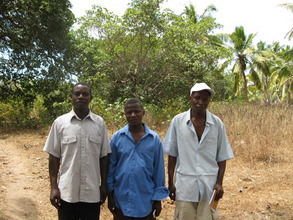 Land where clinic will be built