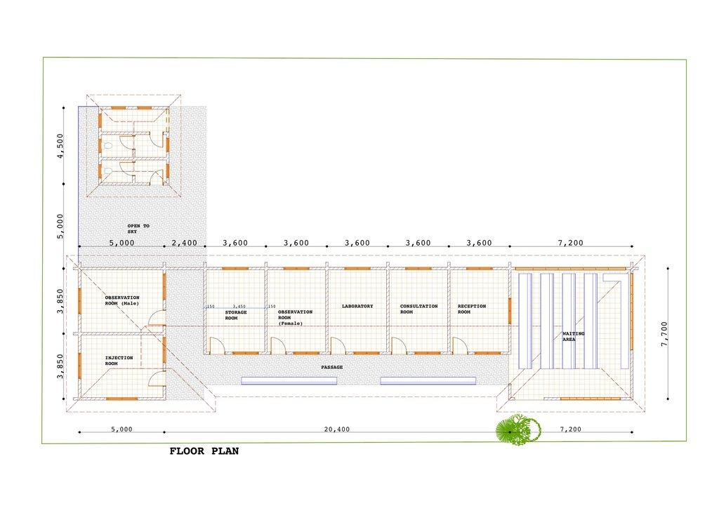 Floor Plan of Clinic