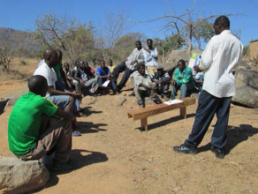 Elijah hosts a gender equality meeting