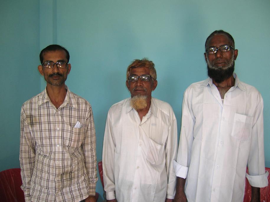 Beneficiaries Receiving Free Eye Glasses