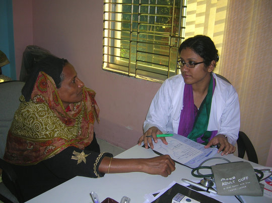 Provide medicine & health services in Bangladesh
