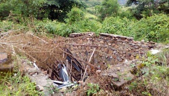 The school toilet before Orbis