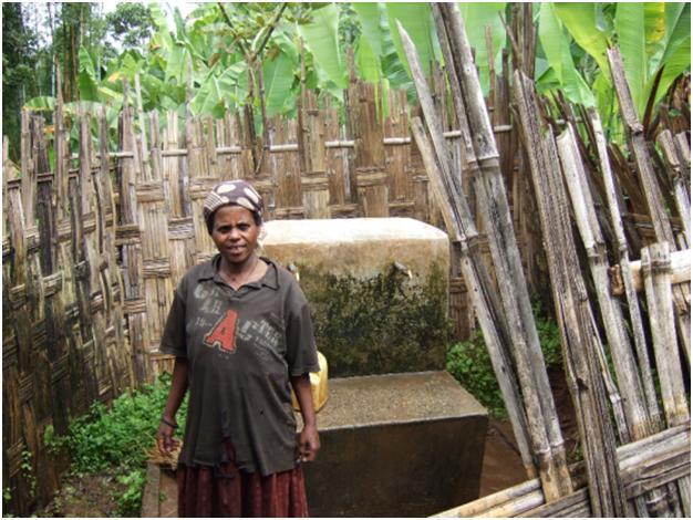 Clean water station in Dita Woreda, Ethiopia