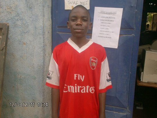 Kambale after learning English is now in P6