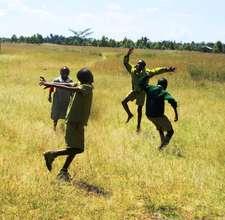 Matuiku School children playing. GHARP/KRA