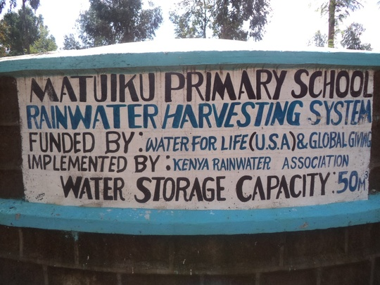 Your donations brought clean water to Matuiku!