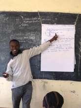 Ronald Kamadi, KRA Technical Assistant. GHARP/KRA