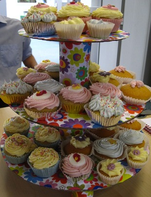 Delicious cakes! Source: M.Whyte