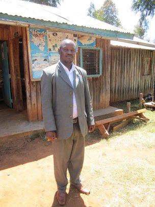 Mr. John Ndegwa, Head Teacher, Matuiku School