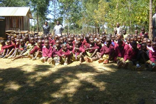 Group photo- Matuiku pupils