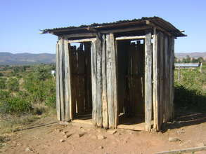 Broken Latrines at Primary School