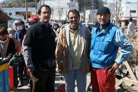 Fuel Relief Fund volunteers