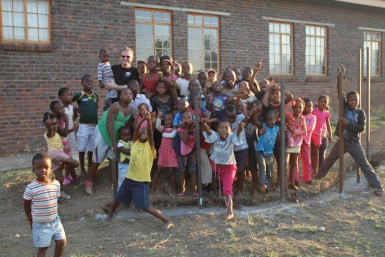The Children of Bergnek, South Africa