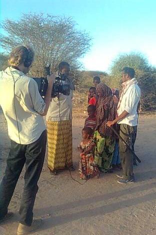 Survival Backpacks team videos Somali refugees