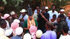 Somali filmmaker Ahmed Farah,  Dadaab Refugee Camp