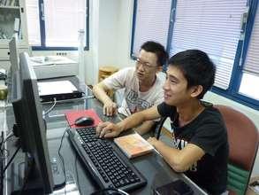 teaching computer (screen reader)