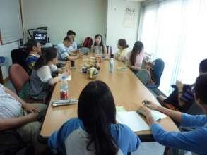 seminar of sharing life experience