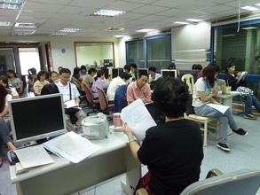 training class of volunteer