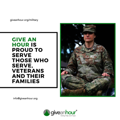 Give an Hour Serves the Military