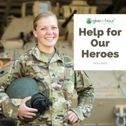 Give an Hour Continues to Serve Those Who Serve