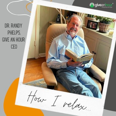 Randy Phelps, PhD, CEO Give an Hour